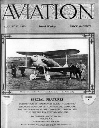 Cover for the August 27 1923 issue