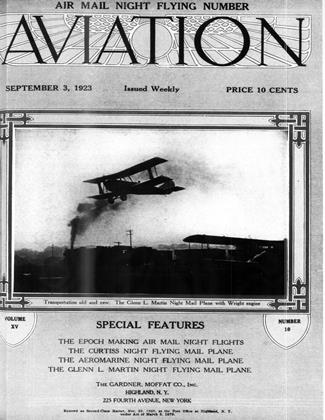 Cover for the September 3 1923 issue