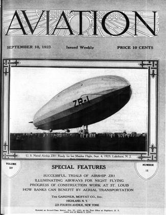 Cover for the September 10 1923 issue