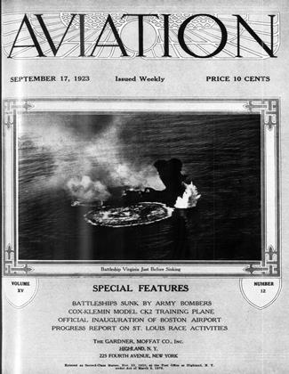 Cover for the September 17 1923 issue