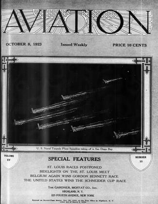 Cover for the October 8 1923 issue