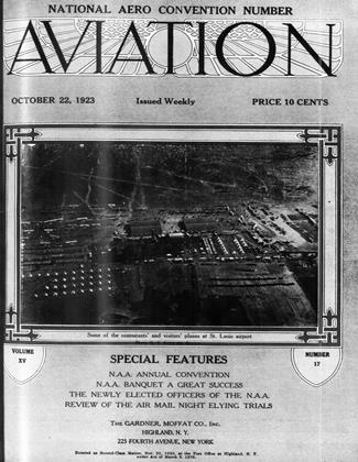 Cover for the October 22 1923 issue