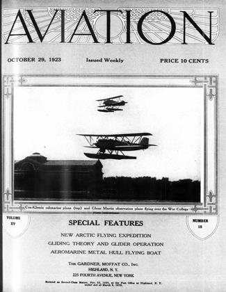 Cover for the October 29 1923 issue