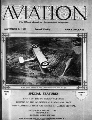 Cover for the November 5 1923 issue