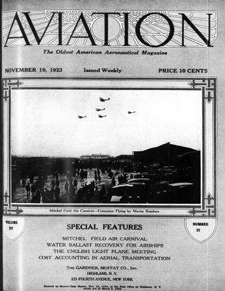 Cover for the November 19 1923 issue