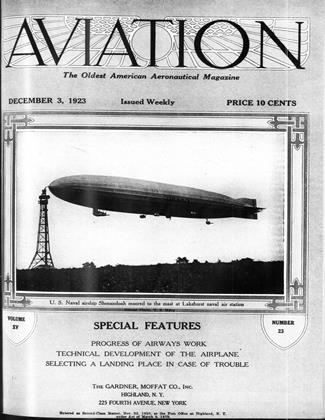 Cover for the December 3 1923 issue