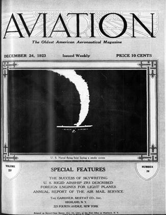 Cover for the December 24 1923 issue