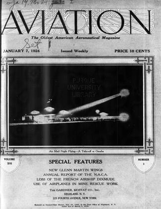 Cover for the January 7 1924 issue