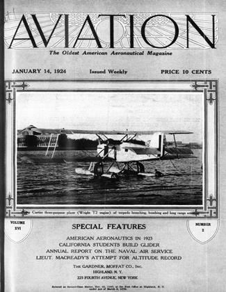 Cover for the January 14 1924 issue
