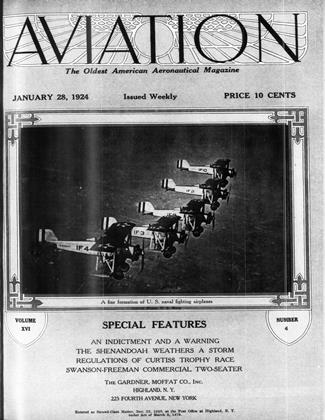 Cover for the January 28 1924 issue