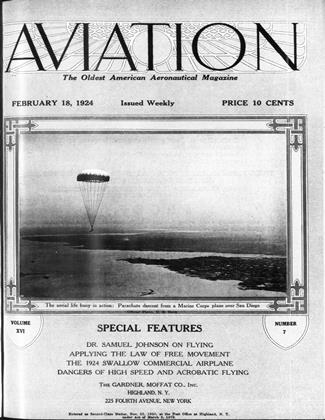 Cover for the February 18 1924 issue