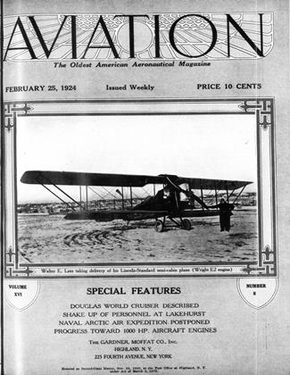 Cover for the February 25 1924 issue