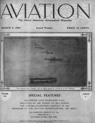 Cover for the March 3 1924 issue