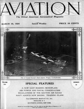 Cover for the March 10 1924 issue