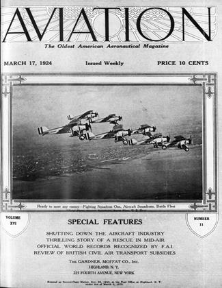 Cover for the March 17 1924 issue