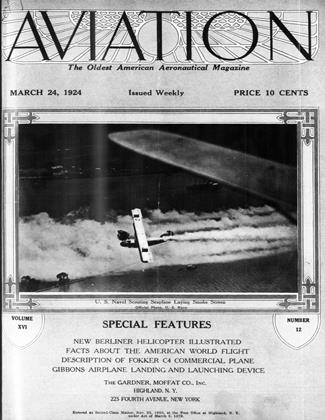 Cover for the March 24 1924 issue