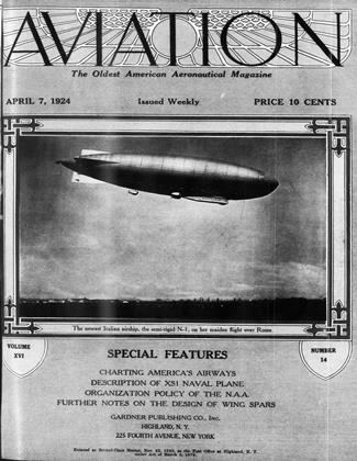 Cover for the April 7 1924 issue