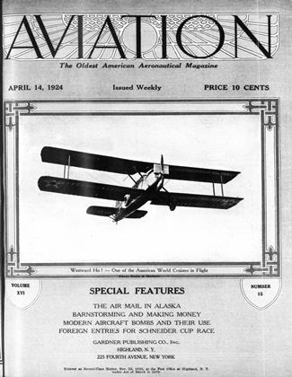 Cover for the April 14 1924 issue