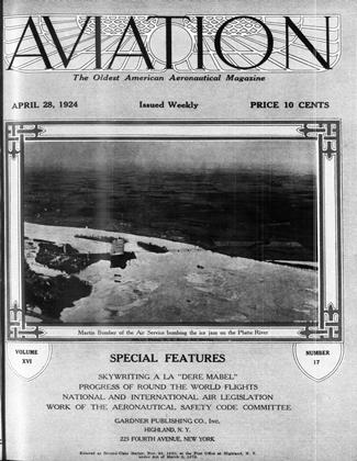Cover for the April 28 1924 issue