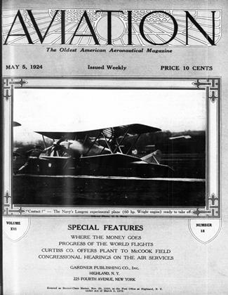 Cover for the May 5 1924 issue