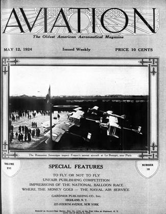 Cover for the May 12 1924 issue