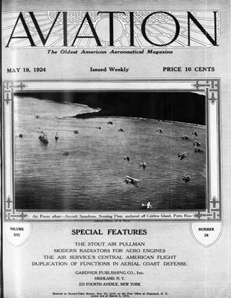Cover for the May 19 1924 issue