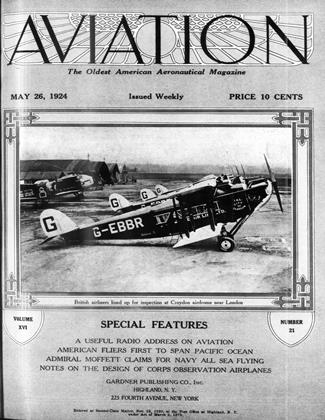 Cover for the May 26 1924 issue