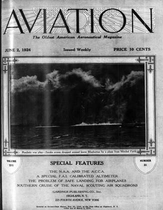 Cover for the June 2 1924 issue