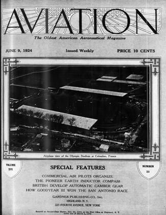 Cover for the June 9 1924 issue
