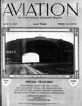 Cover for the June 16 1924 issue