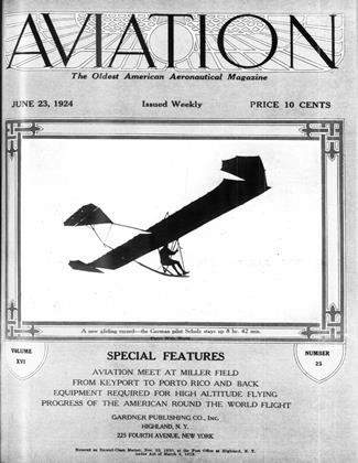 Cover for the June 23 1924 issue
