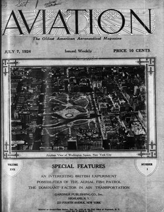 Cover for the July 7 1924 issue