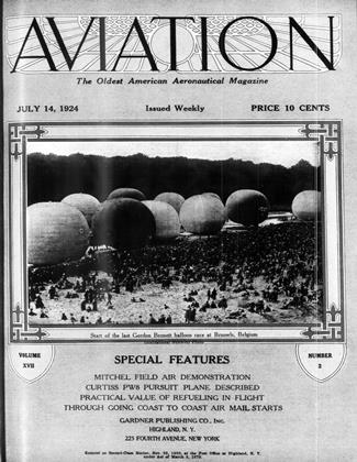 Cover for the July 14 1924 issue