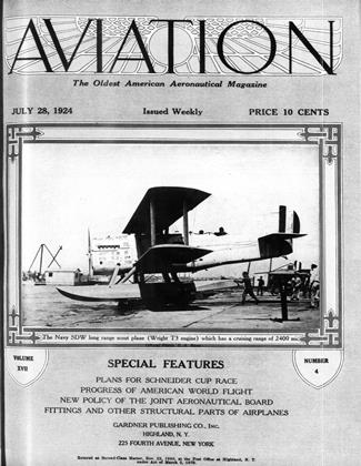 Cover for the July 28 1924 issue