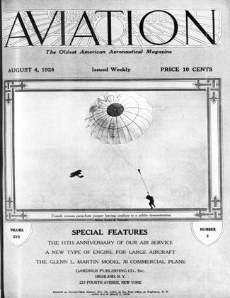 Cover for the August 4 1924 issue