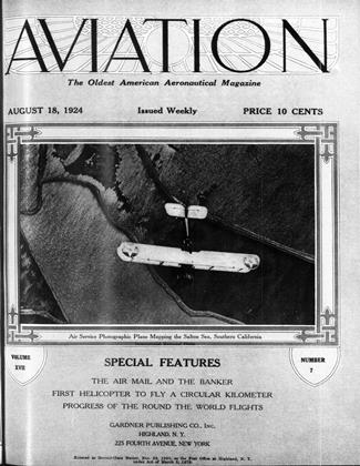 Cover for the August 18 1924 issue
