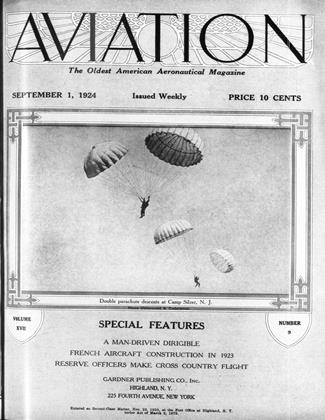 Cover for the September 1 1924 issue