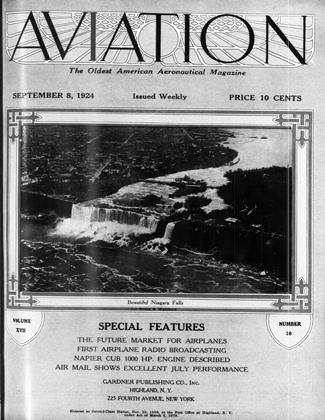 Cover for the September 8 1924 issue