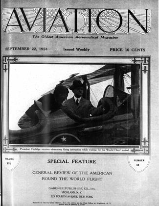 Cover for the September 22 1924 issue