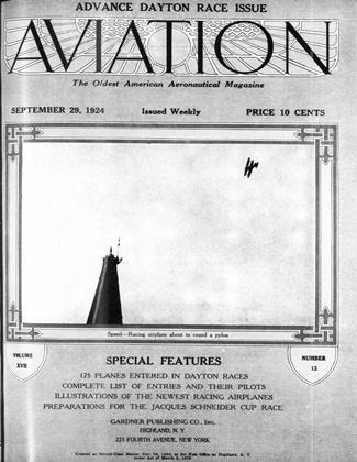 Cover for the September 29 1924 issue