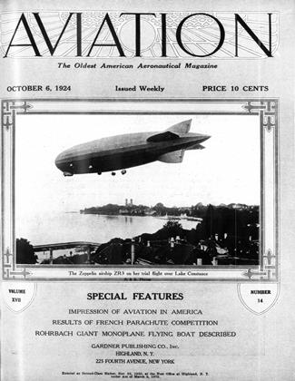 Cover for the October 6 1924 issue