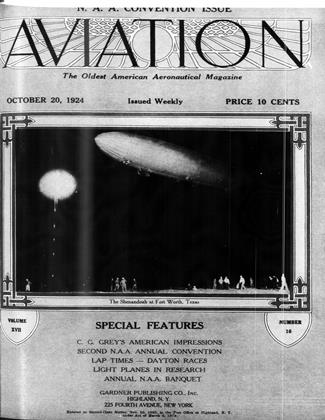 Cover for the October 20 1924 issue