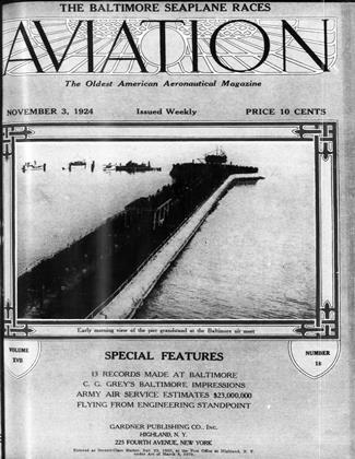 Cover for the November 3 1924 issue