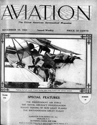 Cover for the November 10 1924 issue