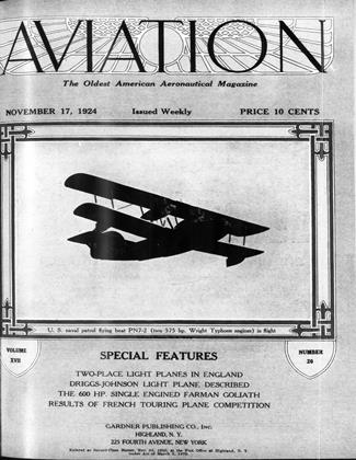 Cover for the November 17 1924 issue