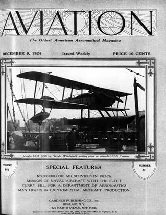 Cover for the December 8 1924 issue
