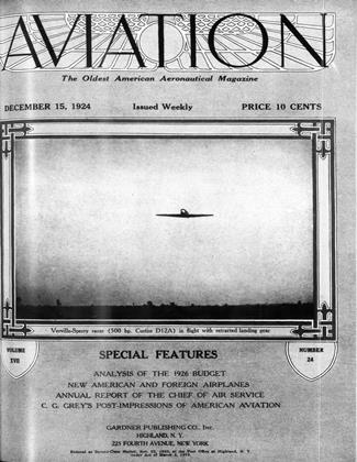 Cover for the December 15 1924 issue
