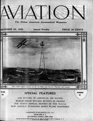Cover for the December 22 1924 issue