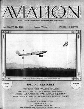 Cover for the January 12 1925 issue