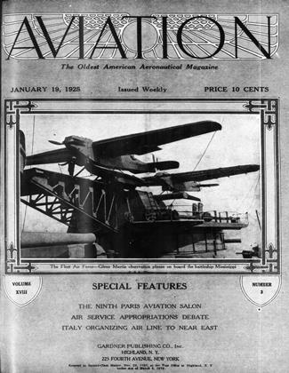 Cover for the January 19 1925 issue